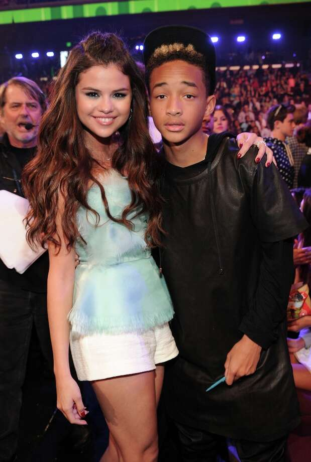 Actress/singer Selena Gomez (L) and actor Jaden Smith attend Nickelodeon's 26th Annual Kids' Choice Awards at USC Galen Center on March 23, 2013 in Los Angeles, California. Photo: Kevin Mazur/KCA2013, WireImage / 2013 Kevin Mazur/KCA2013