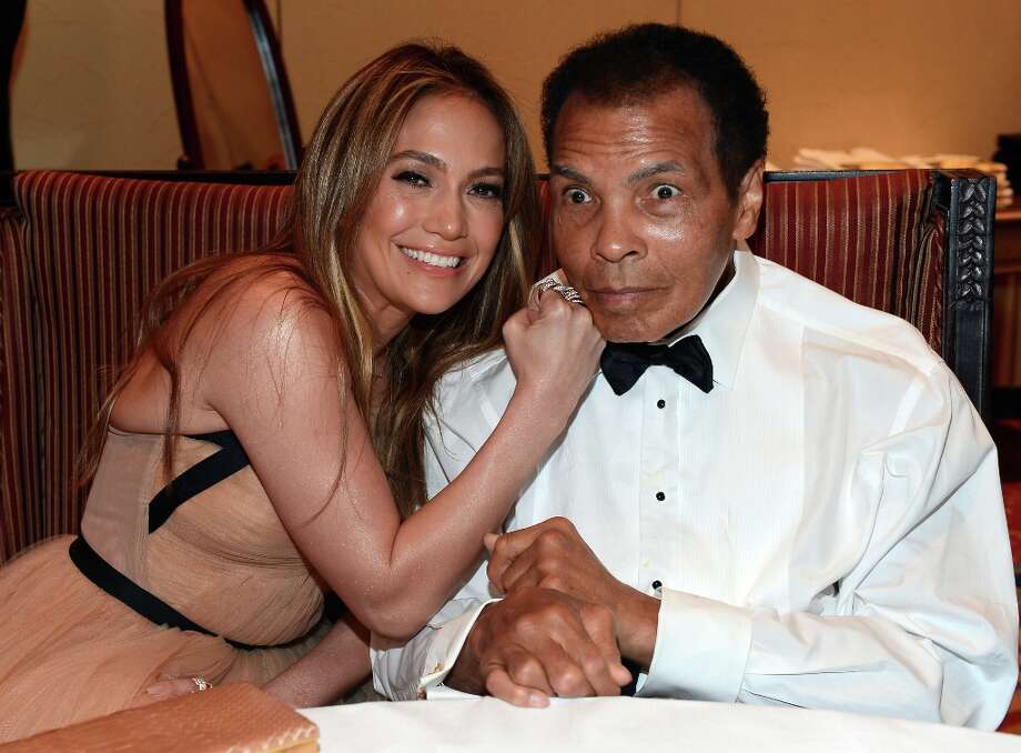 Singer Jennifer Lopez and boxer Muhammad Ali attends Muhammad Ali's Celebrity Fight Night XIX at JW Marriott Desert Ridge Resort & Spa on March 23, 2013 in Phoenix, Arizona. Photo: Michael Buckner / 2013 Getty Images
