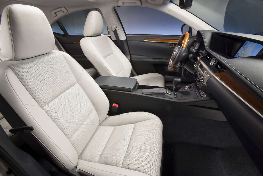 Lexus offers heated and chilled seats as part of a $1,370 option package.