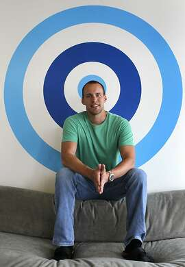 CEO Christian Wiklund discusses his Skout social networking app at the company's headquarters in San Francisco, Calif. on Tuesday, March 12, 2013.