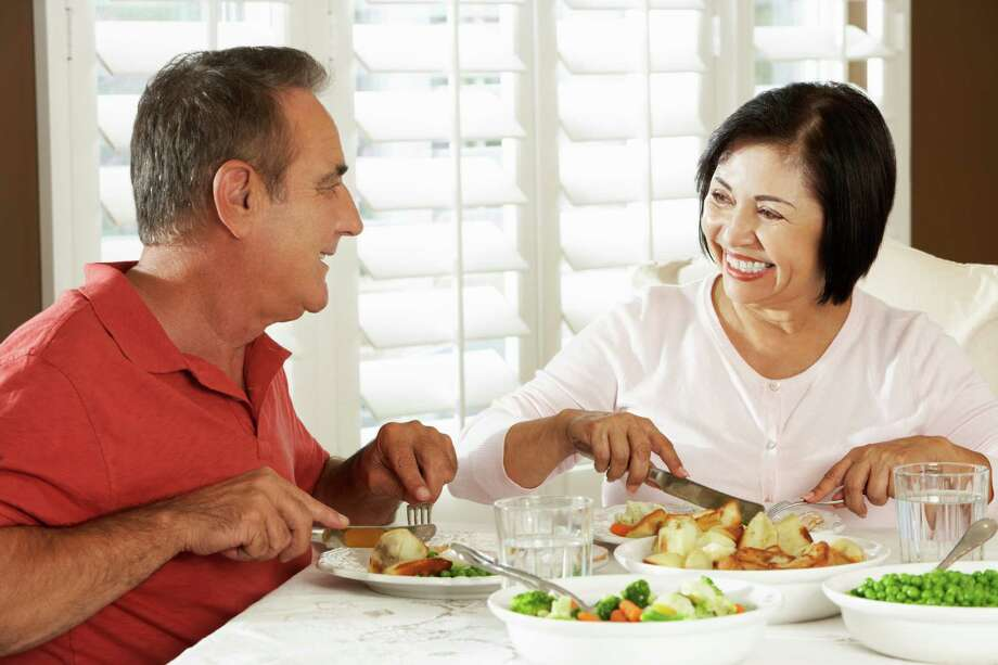 Foot professionals in senior-living communities do their part to make meals appealing and healthy. Photo: Catherine Yeulet / iStockphoto