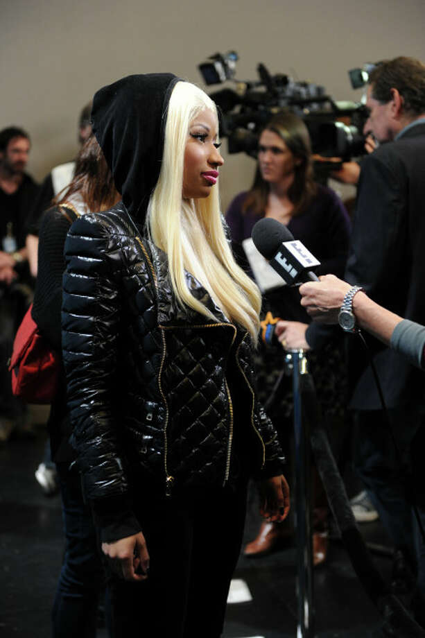 AMERICAN IDOL: Nicki Minaj on the red carpet at the Hollywood Round of AMERICAN IDOL., Wednesday, Dec. 12 in Los Angeles. CR: Frank Micelotta / FOX.