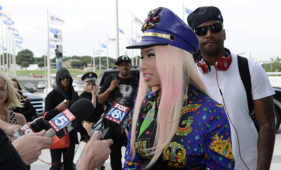 AMERICAN IDOL 12:  Nicki Minaj arrives at the Charlotte Motor Speedway for the taping of AMERICAN IDOL Wednesday, Oct. 3 in Charlotte, NC. CR: Michael Becker / FOX