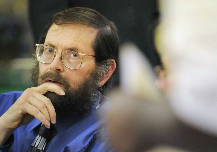 Leonard Morgenbesser listens to a citizen's comments during a task force on guns on Tuesday, June 17, 2008, at the A.M.E. Church in Albany, N.Y. (Times Union archive) Photo: CINDY SCHULTZ / ALBANY TIMES UNION