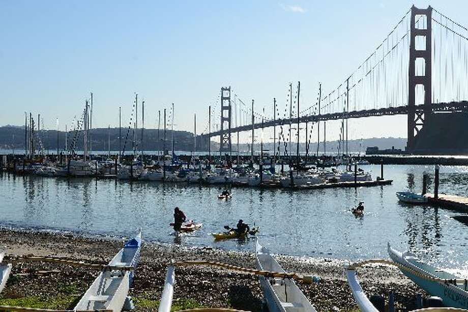SAUSALITO: With a view like this, it's no wonder Sausalito made Smithsonian magazine's list of the 20 Best Small Towns to Visit in 2013.  (Drive time: 30 minutes)
