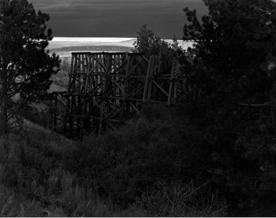 Glenn Rudolph, Bridge #39, 2012, silver gelatin print, 20x24