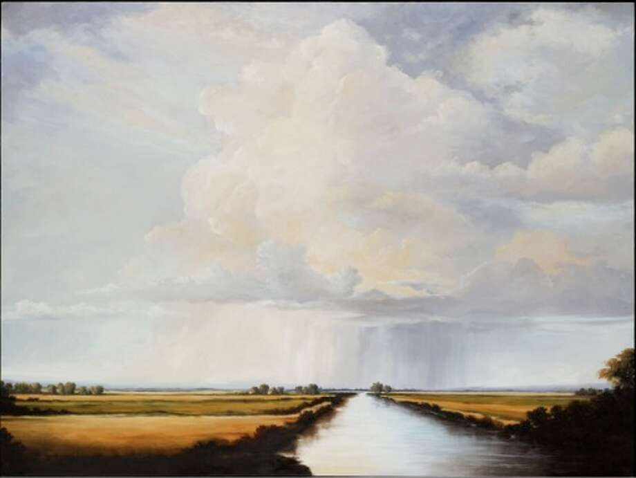 Victoria Adams, Updraft, 2011, oil on linen, 36x48
