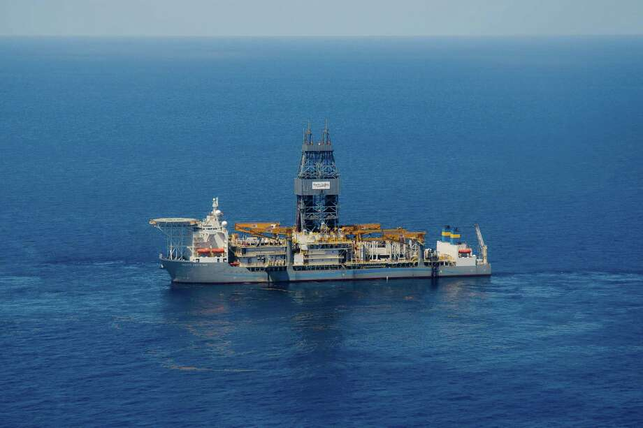 Pacific Drilling's Santa Ana drillship found oil at 31,866 feet below sea level in the Coronado prospect in the Gulf  of Mexico. Photo: Pacific Drilling