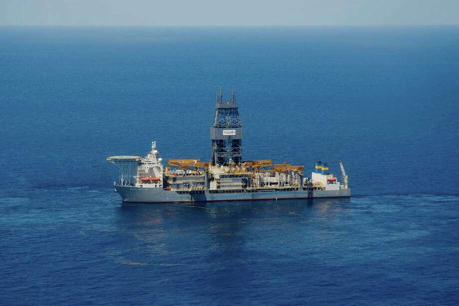 Pacific Drilling's Santa Ana drillship found oil at 31,866 feet below sea level in the Coronado prospect in the Gulf  of Mexico. Photo: Pacific Drilling