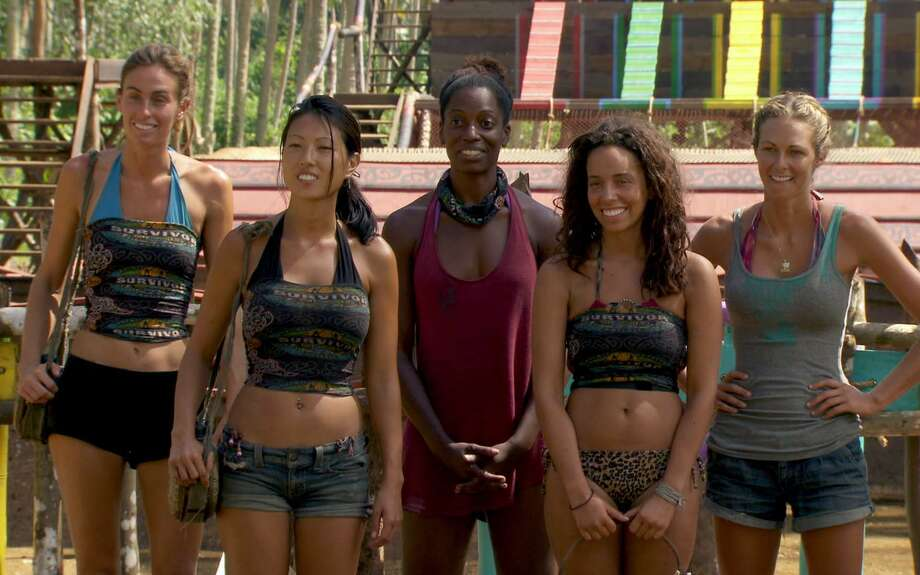 Perception Is Not Always Reality --  Alicia Rose, Kim Spradlin,  Sabrina Thomson, Christina Cha, and Chelsea Meissner of the Tikiano Tribe during the fourteenth episode of SURVIVOR: ONE WORLD, Sunday, May 13 (8:00-9:00 PM, ET/PT) on the CBS Television Network.   Photo: CBS Screen Grab/CBS  ©2012 CBS Broadcasting Inc. All Rights Reserved Photo: CBS