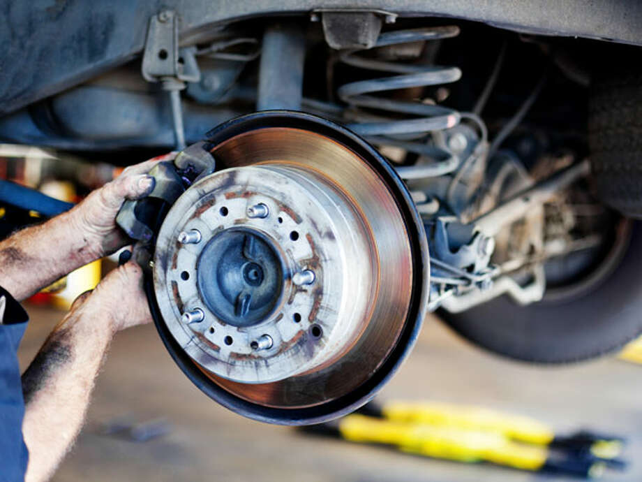 Changing Disc Brake Pads