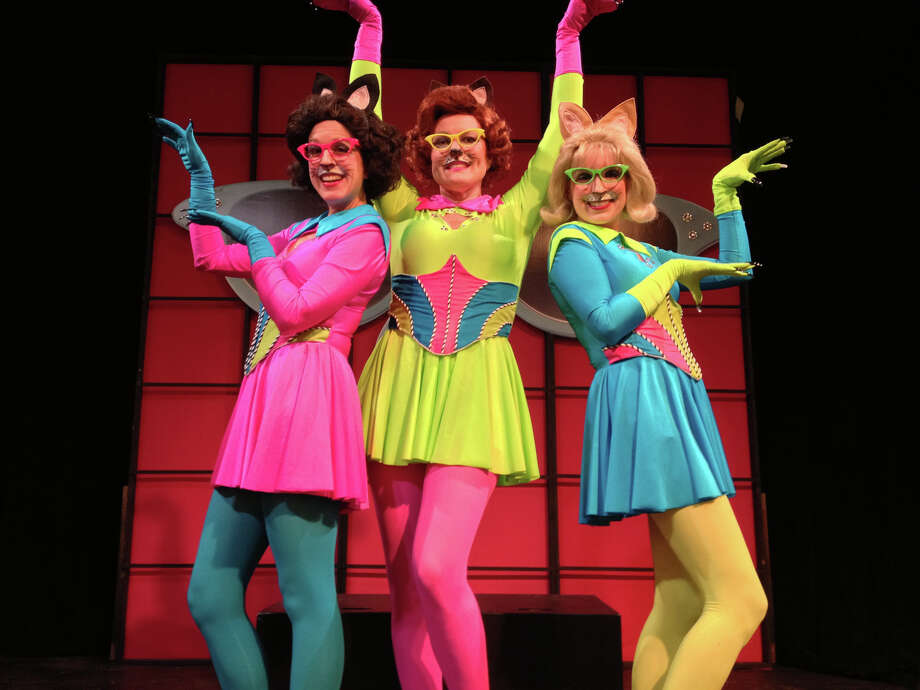 """Glam Kitty Squad"" is the latest children's theater show produced by Pantochino Productions at the Center for the Arts in Milford through April 7. Photo: Contributed Photo"