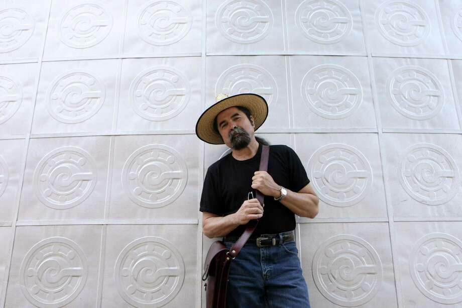 "Self-proclaimed ""cultural worker"" Juan Tejeda is the 2012 Cindi Lazzari Artist Advocate Award winner. Photo: Helen L. Montoya / San Antonio Express-News"