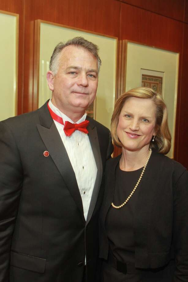 Tom and Maria Troegel. Photo: Gary Fountain, For The Chronicle / Copyright 2013 Gary Fountain