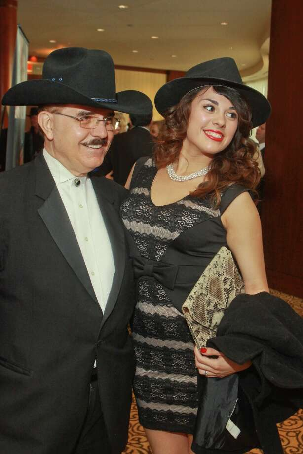 Riyad Abu-Taha and Diane Casanova. Photo: Gary Fountain, For The Chronicle / Copyright 2013 Gary Fountain