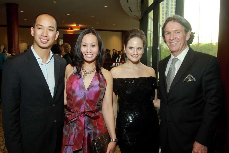 David Nguyen, from left, Linh Luu, Amber Willis and Peter Remington. Photo: Gary Fountain, For The Chronicle / Copyright 2013 Gary Fountain