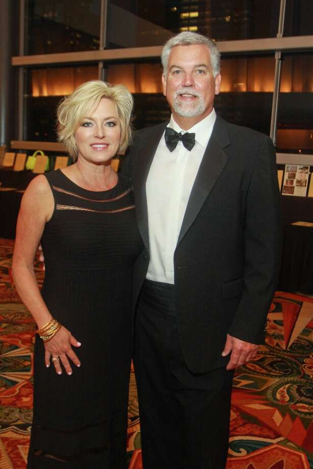 Lynn and Mike Plummer. Photo: Gary Fountain, For The Chronicle / Copyright 2013 Gary Fountain