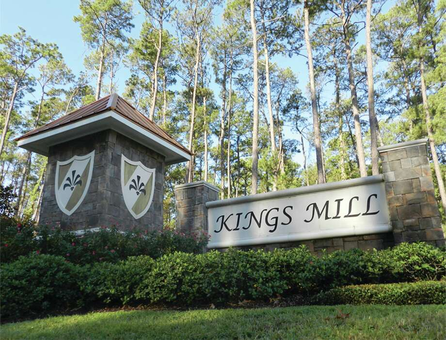 The heavily wooded, 213-acre community of Kings Mill features Humble Independent School District schools, and amenities, including several walking trails. The community is celebrating the opening of a new section, a new aquatic center and a new lake.