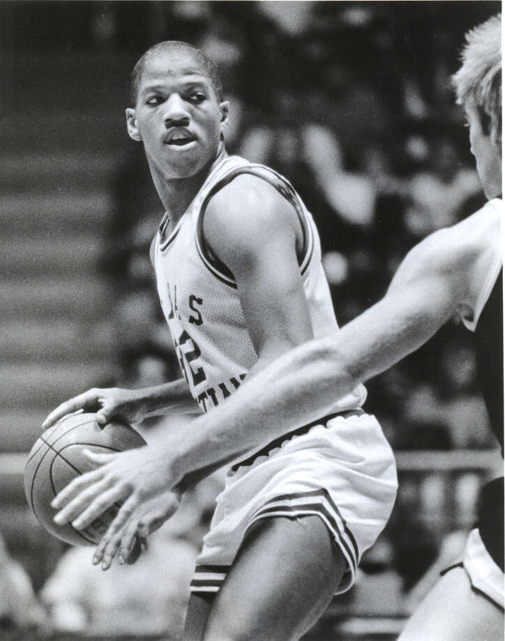 15. 1987 TCU: Guard Carven Holcombe averageed 17.5 points per game for the Horned Frogs. Photo: Courtesy Photo