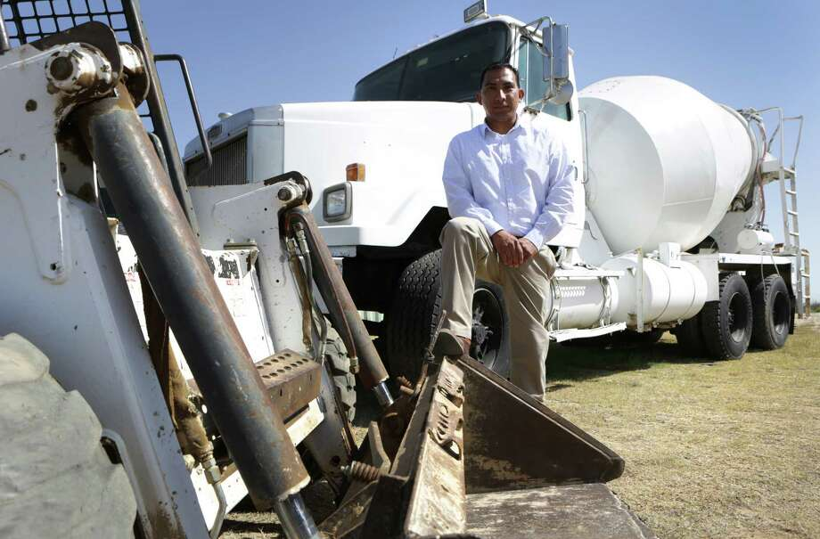 George Zurita, President of Z&L Concrete, went through Bexar County's 20-hour program to help businesses get bonding. Monday, March 25, 2013. Photo: BOB OWEN, San Antonio Express-News / © 2012 San Antonio Express-News