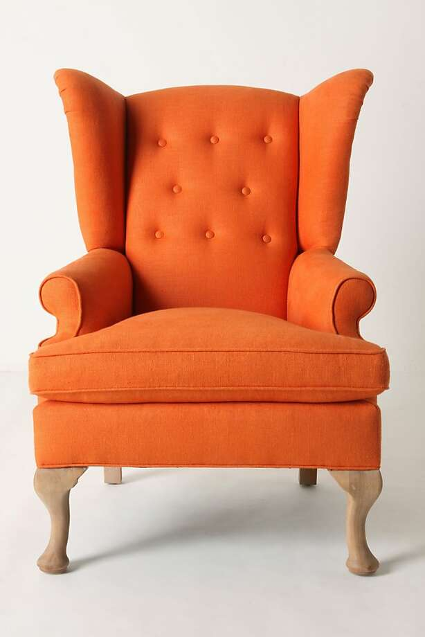More: $1,898 Howell Wingback from Anthropologie (www.anthropologie.com) Photo: Anthropologie