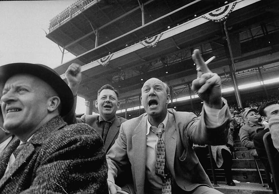 Fans on Opening Day 1957. Photo: Francis Miller, Time Life Pictures/Getty Images