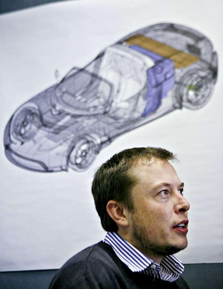 Elon Musk, CEO of Tesla Motors Photo: Ryan Anson, Bloomberg News