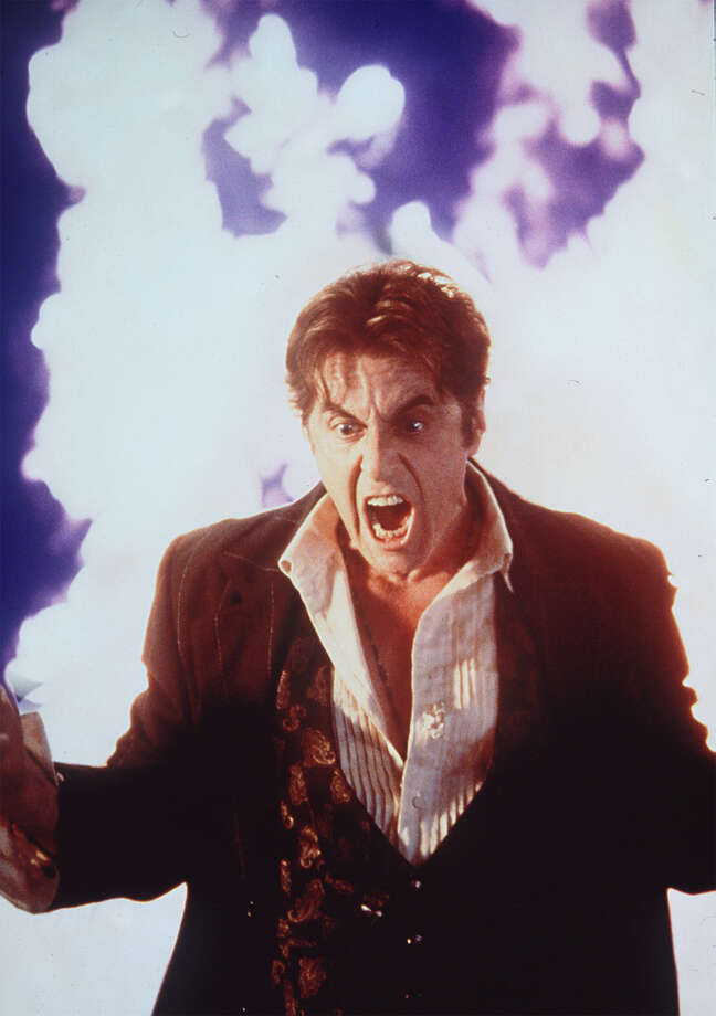 Al Pacino was crazy, and not in a good way, in 'Devil's Advocate'