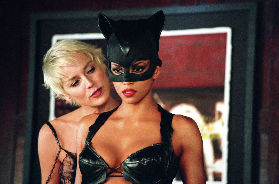 Halle Berry (right) starred in 'Catwoman,' for which she won a Razzie. Photo: Doane Gregory