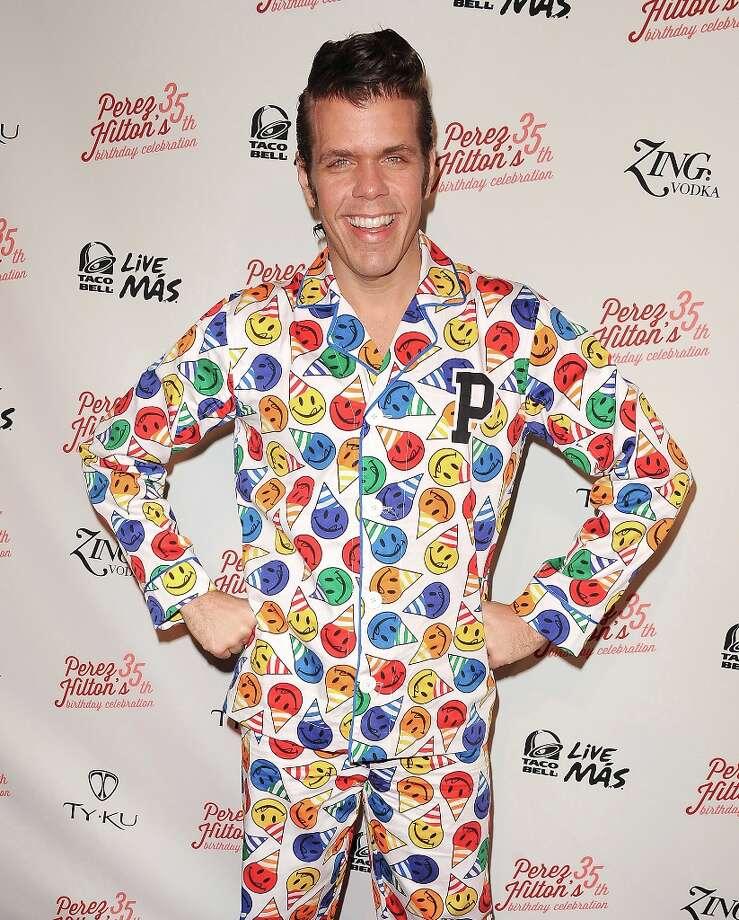 LOS ANGELES, CA - MARCH 23:  Perez Hilton attends his 35th birthday party at El Rey Theatre on March 23, 2013 in Los Angeles, California. Photo: Jason LaVeris, FilmMagic / 2013 Jason LaVeris
