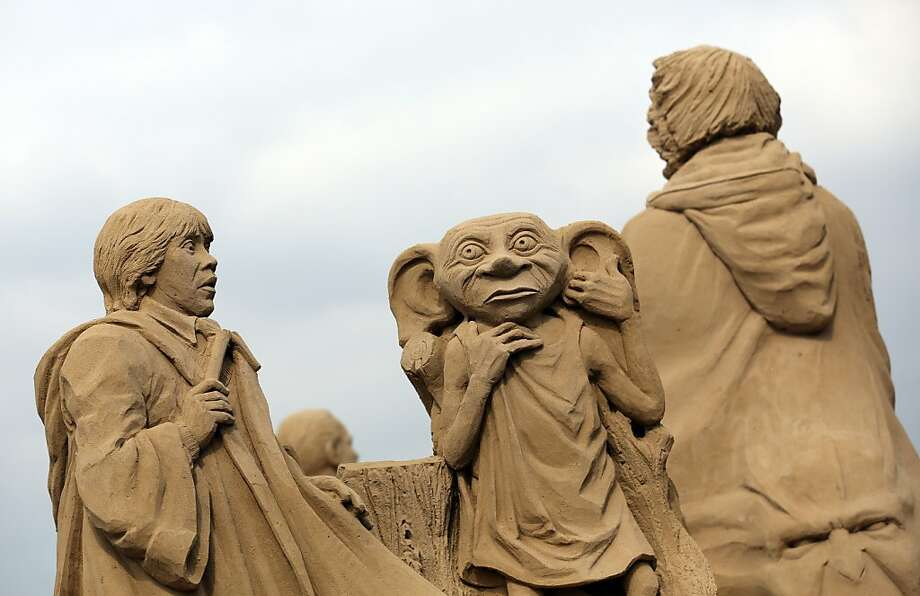 Dobby the House Elf lives again at Weston-super-Mare. Photo: Matt Cardy, Getty Images