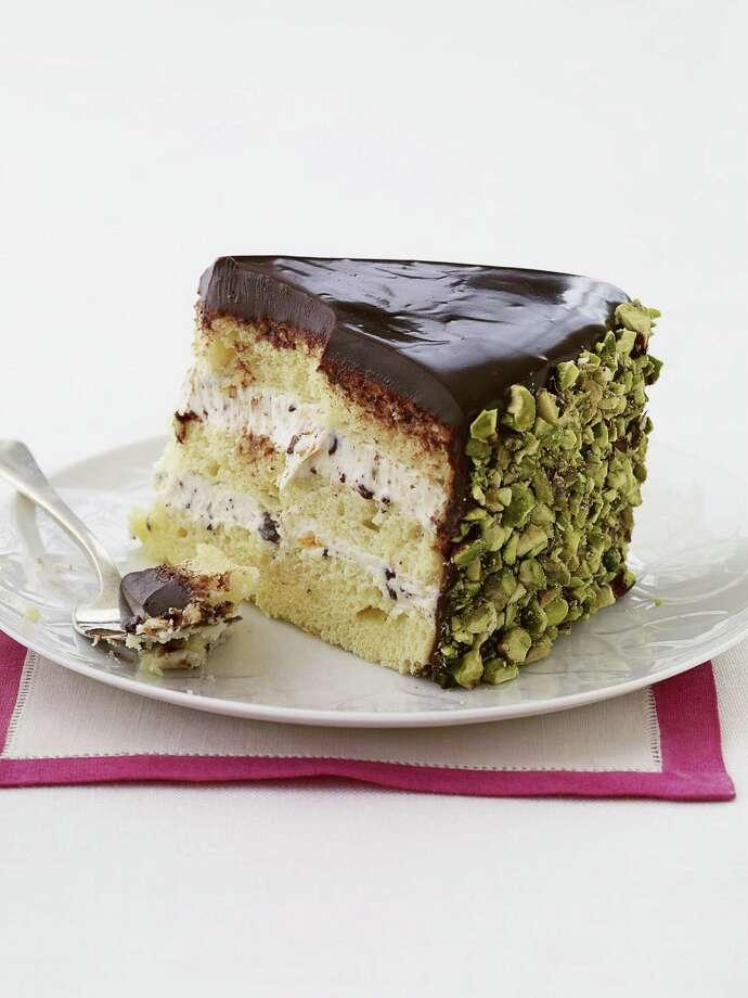 Redbook recipe for Chocolate Cannoli Cake Photo: Rita Maas