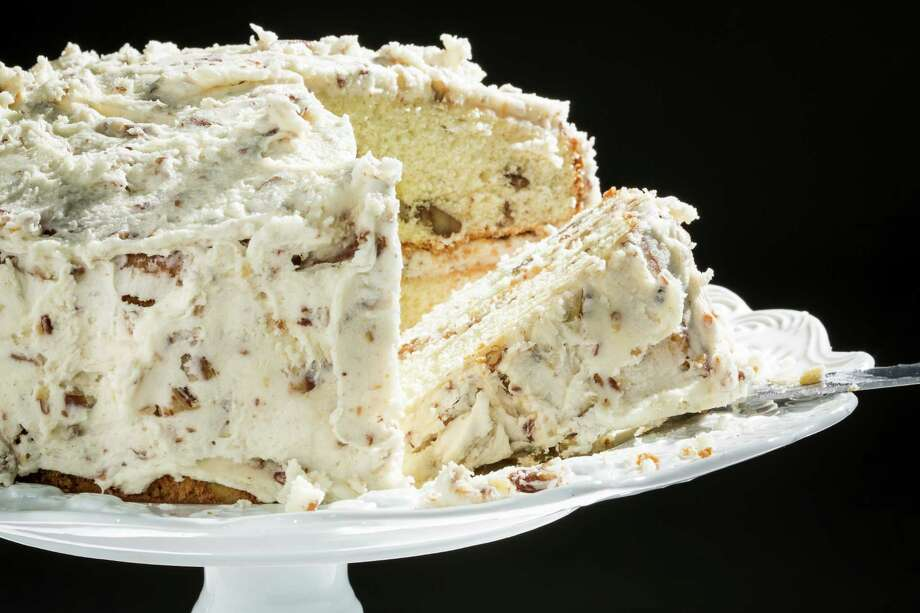 Butter Pecan Cake Photo: Michael Paulsen, Staff / © 2013 Houston Chronicle