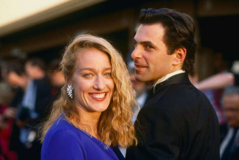 Patricia Wettig is best known for her roles in the television series Thirtysomething as well as Prison Break and Brothers & Sisters. Also in the film City Slickers. She received critical acclaim (and a number of awards) for her role as Nancy Weston in Thirtysomething.Here's Wetting with Olin in 1989. The two are married and have two kids. Photo: George Rose, Getty Images / 1989 George Rose