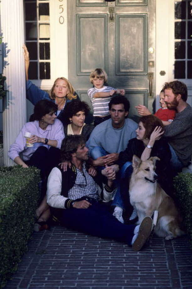 1987 - Pictured, top left: Patricia Wettig (as Nancy Weston), Luke Rossi (as Ethan Weston), Jordana Bink Shapiro (as Brittany Weston), Timothy Busfield (as Elliot Weston); middle row: Mel Harris (as Hope Steadman), Polly Draper (as Ellyn Warren), Ken Olin (as Michael Steadman), Melanie Mayron (as Melissa Steadman); bottom row: Peter Horton (as Gary Shepherd) , Photo: ABC Photo Archives, ABC Via Getty Images / American Broadcasting Companies, Inc.