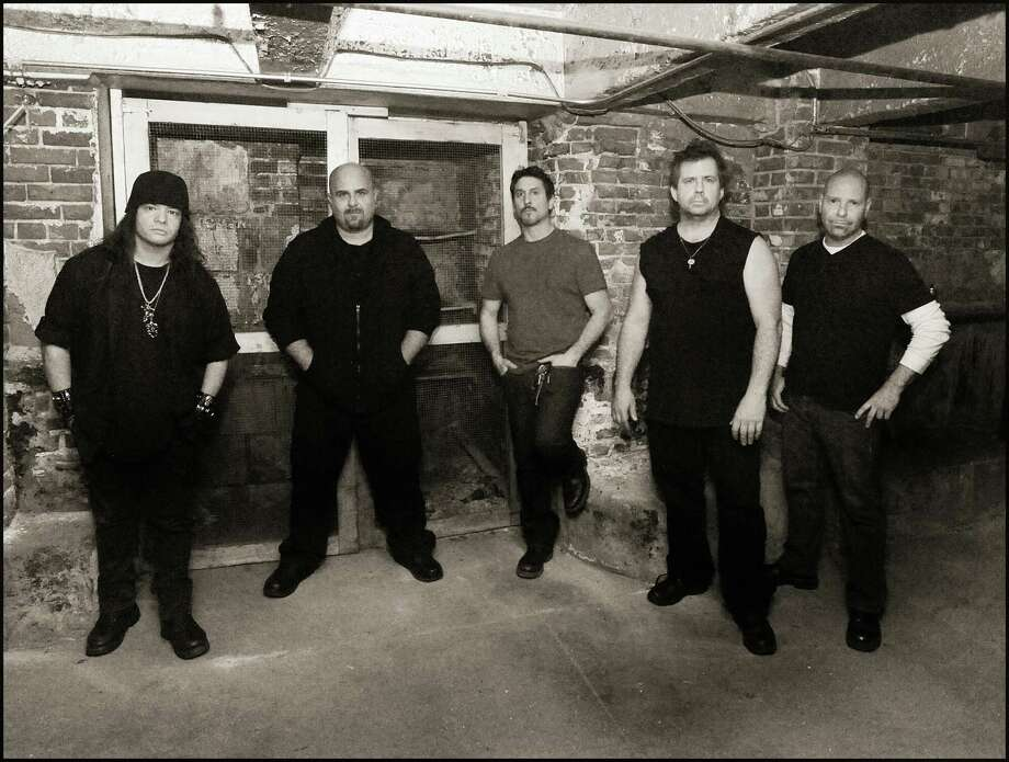 Liege Lord, a Stamford-based power metal band that recently reunited around founding members Anthony Truglio and Matt Vinci, will perform at Stamford's Seaside Tavern on Tuesday, April 9. The travel to Germany the following day to play the Keep It True XVI festival. Photo: Contributed Photo