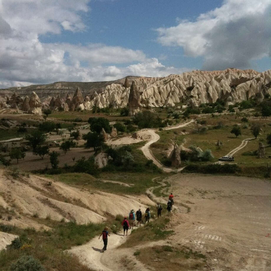 Hiking in Cappadocia is part of Whole Journeys' Turkish Delights guided trips April 13 – 21 and Sept. 20 –28, 2013.