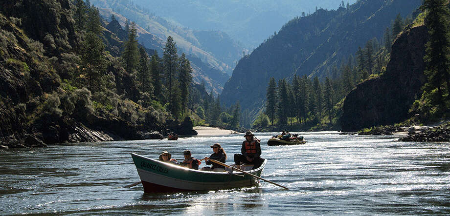 The water isn't always wild on the weeklong Savor the Salmon River, Idaho tour. There's even a family-focused trip departing Aug. 7, in addition to itineraries starting July 14 and Aug. 23.