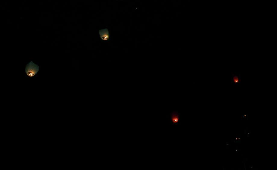 Some were convinced these were signs of an alien force in Liberty County. Photo: Shirley LaChapelle