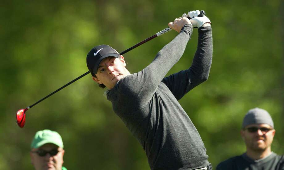 Rory McIlroy tees off on No. 2 during. Photo: Brett Coomer, Houston Chronicle / © 2013 Houston Chronicle