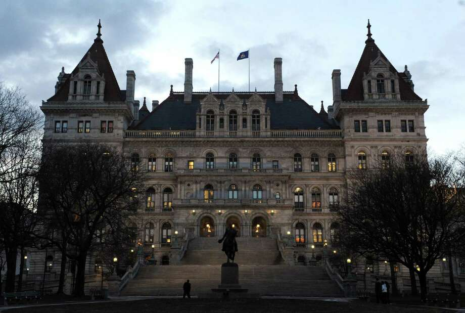 The State Capitol: There are many tales about the New York State Capitol.  Learn about them on a ghost tour. Photo: Michael P. Farrell