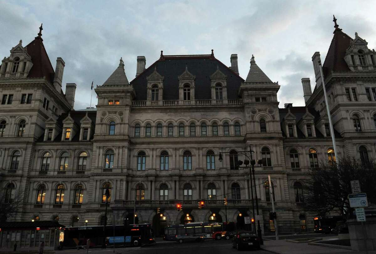 The New York State Capitol on Tuesday March 26, 2013 in Albany, N.Y. (Michael P. Farrell/Times Union)