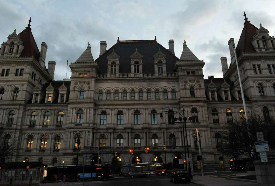 The New York State Capitol on Tuesday March 26, 2013 in Albany, N.Y. (Michael P. Farrell/Times Union) Photo: Michael P. Farrell