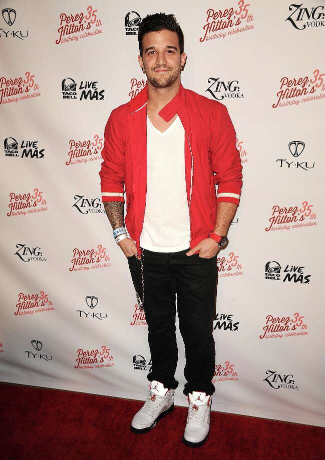 Dancer Mark Ballas attends Perez Hilton's 35th birthday party at El Rey Theatre on March 23, 2013 in Los Angeles, California. Photo: Jason LaVeris, FilmMagic / 2013 Jason LaVeris
