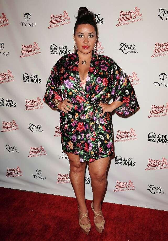 LOS ANGELES, CA - MARCH 23:  Mercedes 'MJ' Javid attends Perez Hilton's 35th birthday party at El Rey Theatre on March 23, 2013 in Los Angeles, California. Photo: Jason LaVeris, FilmMagic / 2013 Jason LaVeris