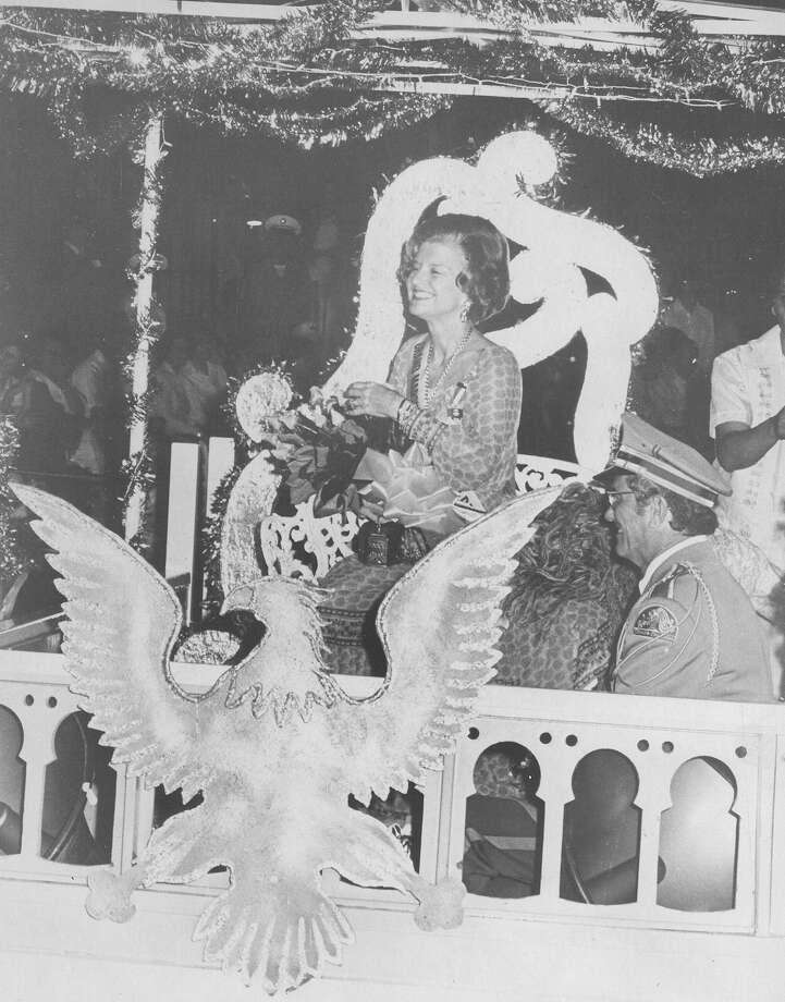 Fiesta River Parade 1976 Photo: San Antonio Express-News File Photo