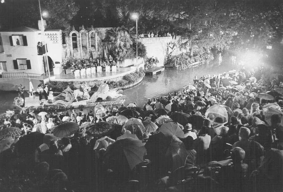 Fiesta River Parade 1973 Photo: San Antonio Express-News File Photo