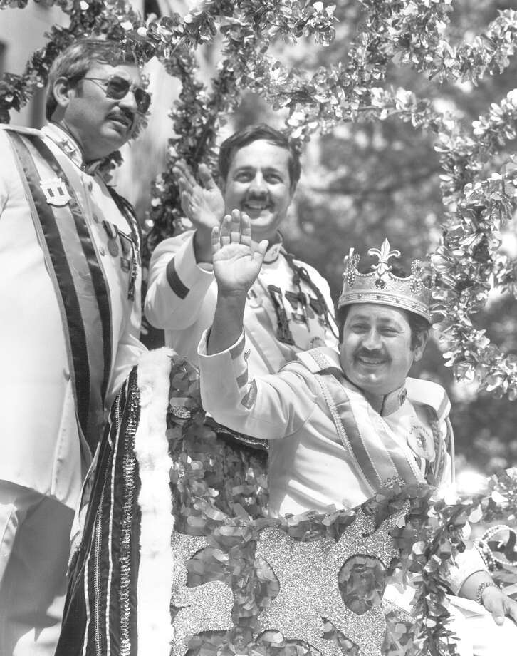 1984, Roger Flores: Rey Feo XXXVI. Photo: San Antonio Express-News File Photo