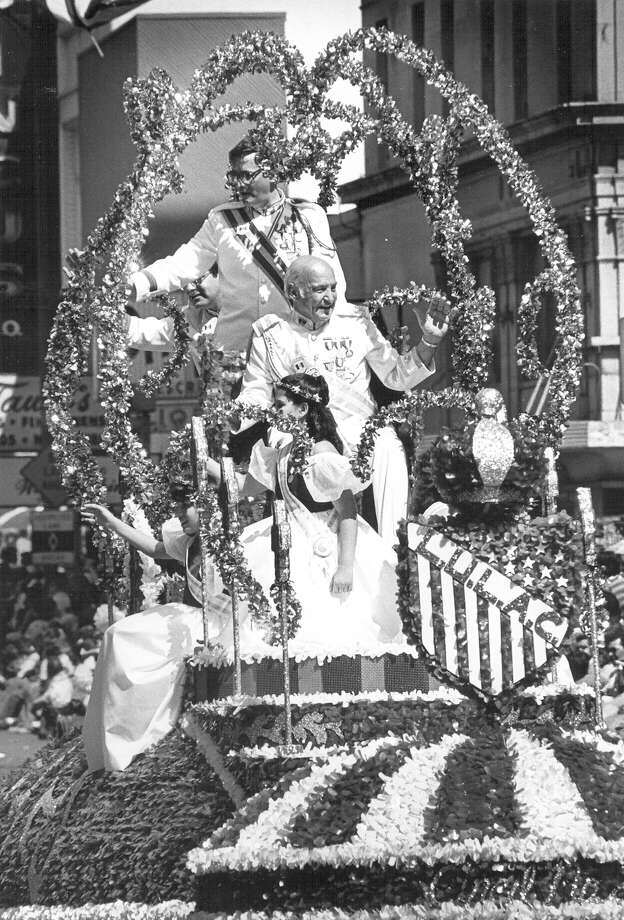 1983, Ralph Karam: Rey Feo XXXV. Photo: San Antonio Express-News File Photo