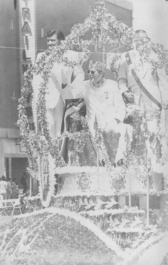 1980, Logan Steward: Rey Feo XXXII. Photo: San Antonio Express-News File Photo